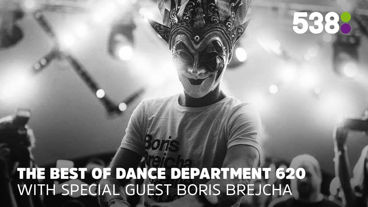 Dance Department episode 620 Boris Brejcha